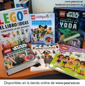 Libros LEGO de Pearson y DK