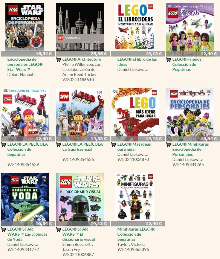Libros LEGO